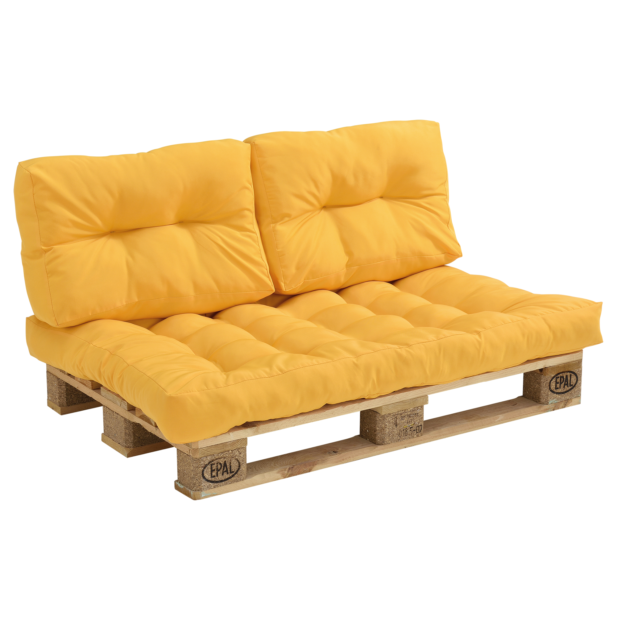 Palettenkissen in outdoor paletten kissen sofa for Coussin d assise canape